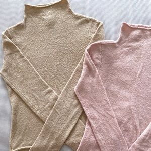 Aritzia   BUNDLE   Wilfred Darling Sweaters x2